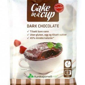 Cake in a Cup Dark Chokolate