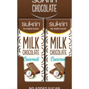 Молочный шоколад с Сукрином и кокосом 20 шт